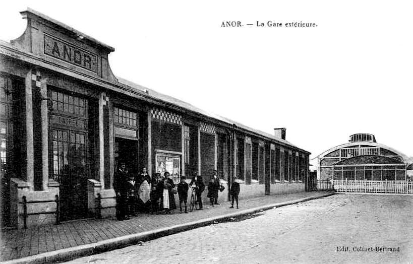 ANOR-La Gare 1925