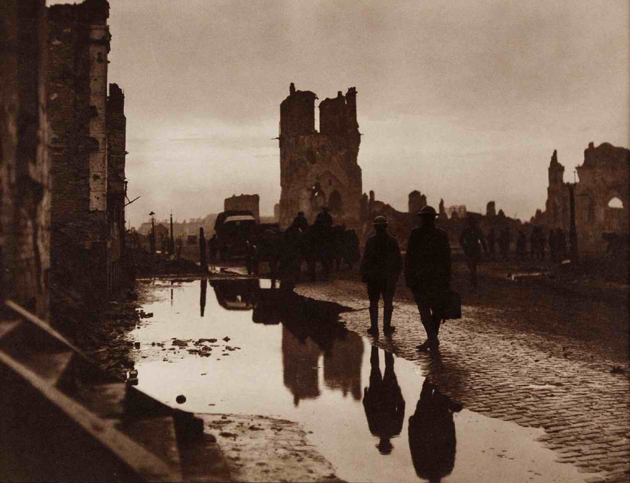Evening by the Cloth Hall, Ypres