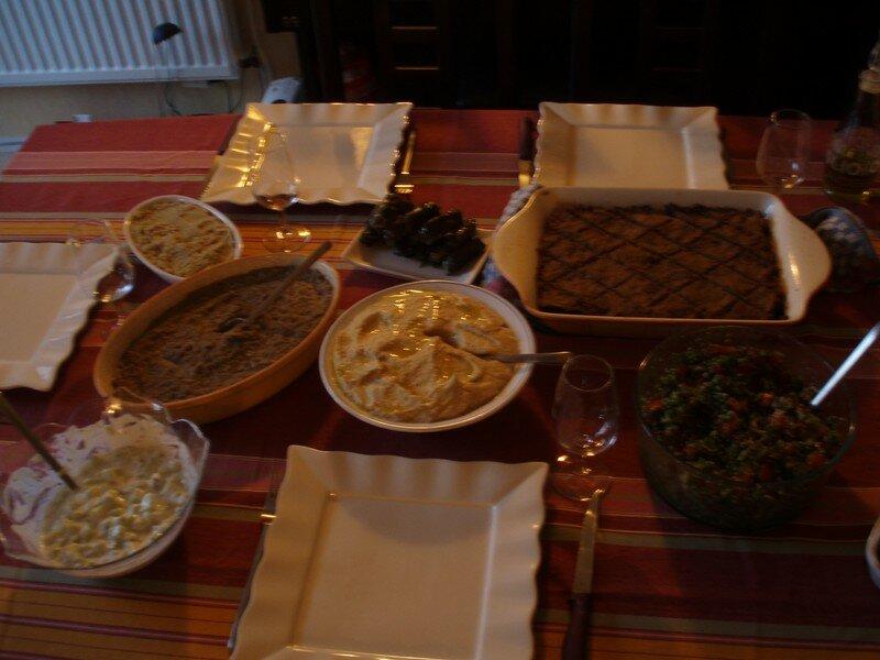 huuuum, la cuisine libanaise...