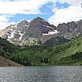 Maroon bells, aspen co