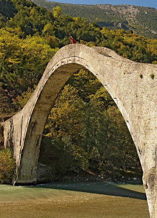 Pont ottoman de Plaka sur l'Arachtos — P1010747