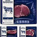 Blue goose - packaging