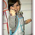 La p'tite fournée (cousée ?) de tabliers extra-mimis pour les petits enfants riquiquis minis jolis, mais pas seulement