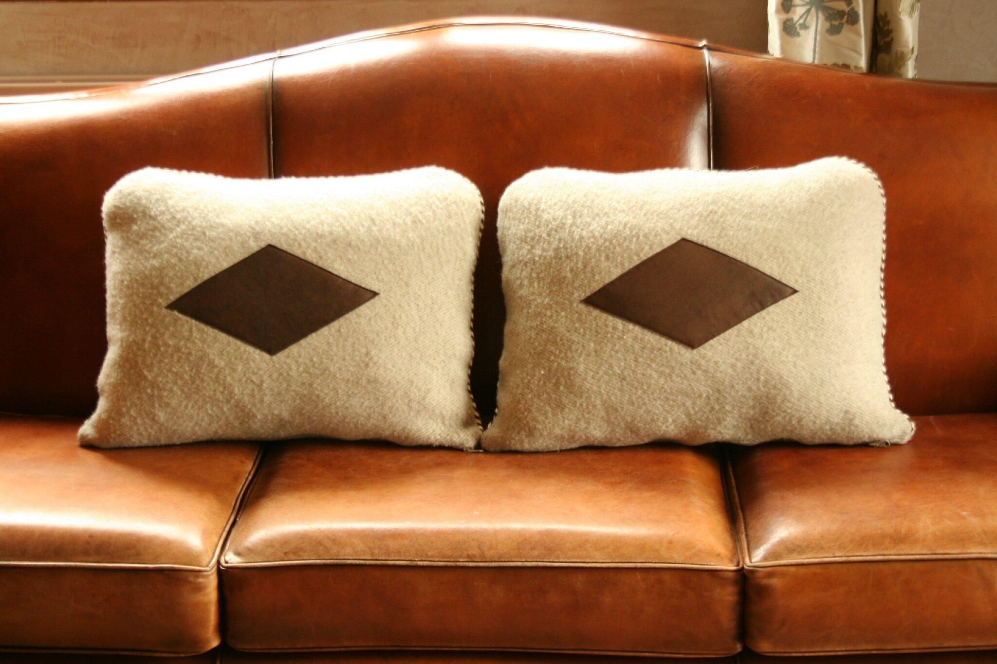 quelques coussins pour intérieurs chaleureux