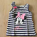Teeshirt minnie h&m 98/104