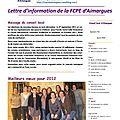 Bulletin n°4 mars 2012