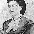 Laine Marie Augustine épouse François 1877-1924