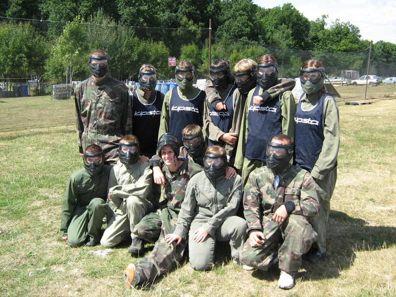 Paintball à digny