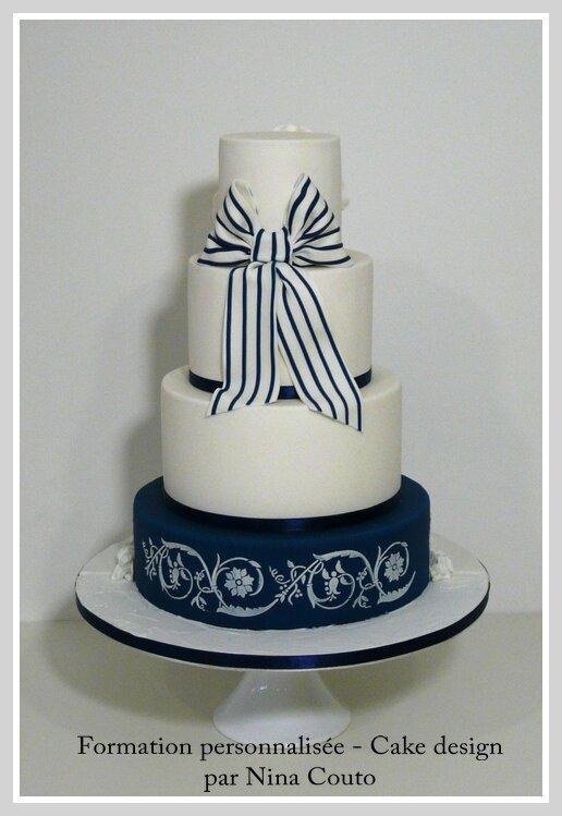 wedding cake nimes at privee safir 1