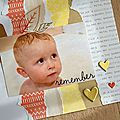 Scrapbooking - remember