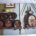 Tours - musée du compagnonnage - chefs d'oeuvre de tonnelerie