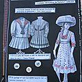 Défilé haute couture, une page intermédiaire