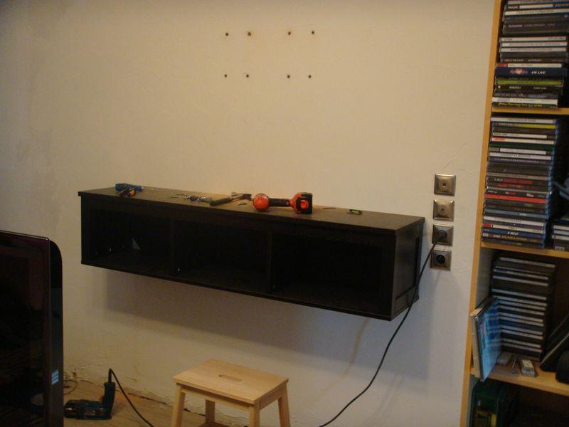 Meuble Tv A Fixer Au Mur Choix D Electromenager