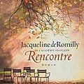 Livre: rencontre de jacqueline de romilly