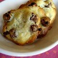 Cookies au philadelphia & chocolate raisins