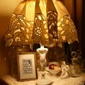 Lampe ange + peinture 18 01 09 010