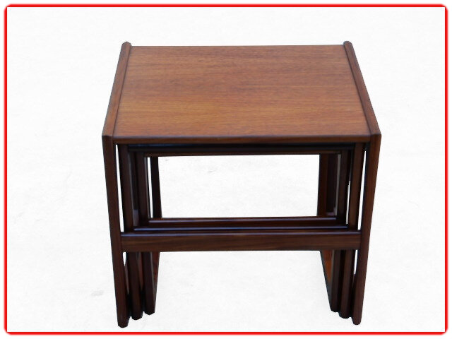 Tables gigognes teck d'occasion