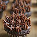 Cupcakes chocolat et spéculoos