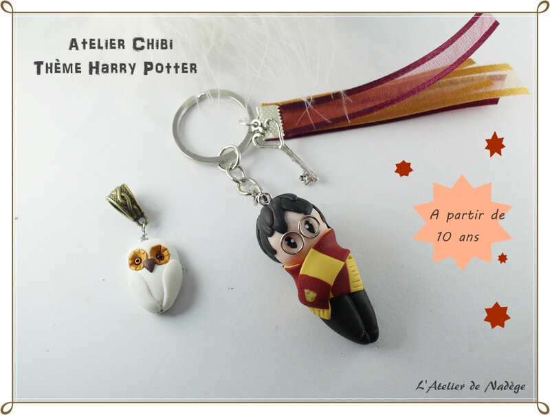 chibi harry potter fimo