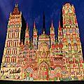 Rouen: la metropole en panne selon la carte de voeux envoyée par france stratégie