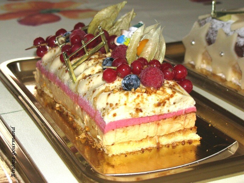 Buche aux fruit