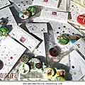 Collection de badges pour les enfants Marimerveille