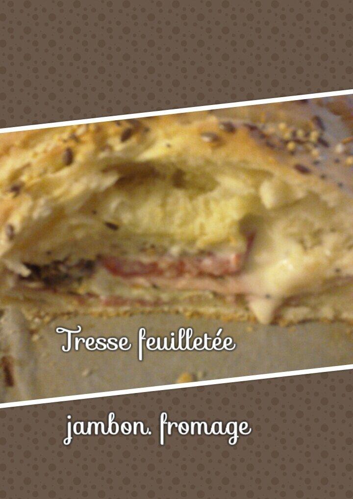 Tresse feuilletée Jambon\Fromage
