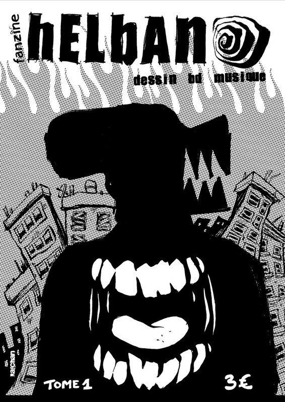 COVER HELBAN TOME 1 par RAFCHAN