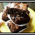 Brownies amandes - banane