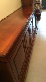 buffet enfilade type louis philippe merisier