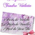 Fragrance tendre violette
