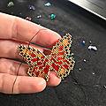 Papillon en perles miyuki de chez talitutanana :)