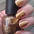 ♥ goldeneye ♥ {vernis opi collection skyfall}