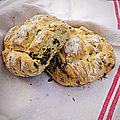 Petit pain au basilic