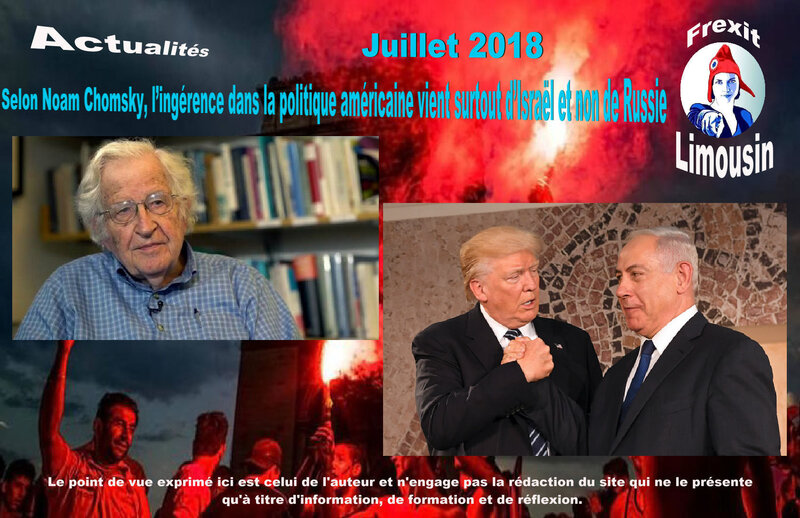 ACT CHOMSKY INFLUENCE ETRANGERE