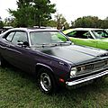 Plymouth duster 340 fastback coupe-1971