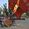 survol de la Cappadoce en mongolfière