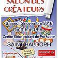 Salon des créateurs (st baldoph 73190)