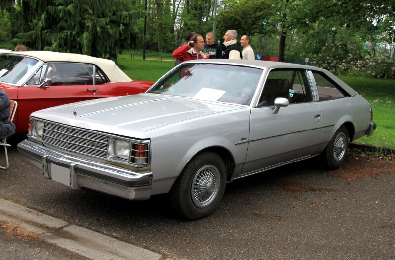 Buick century 2 door coupé type IV (1978-1981)(Retrorencard mai 2010) 01