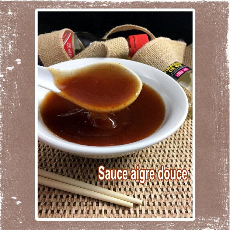 sauce aigre douce (scrap)