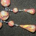 4 gouttes pendantes brain cane gris