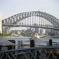 Harbour Bridge vu de Writers Walk