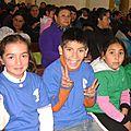 Los niños en la misa