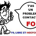 FO, LIBRE ET INDEPENDANT