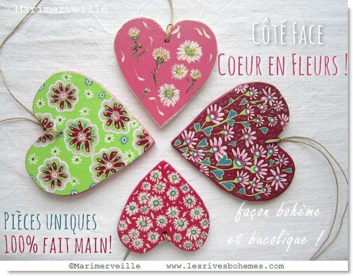 Marimerveille collection coeurs fleurs 1