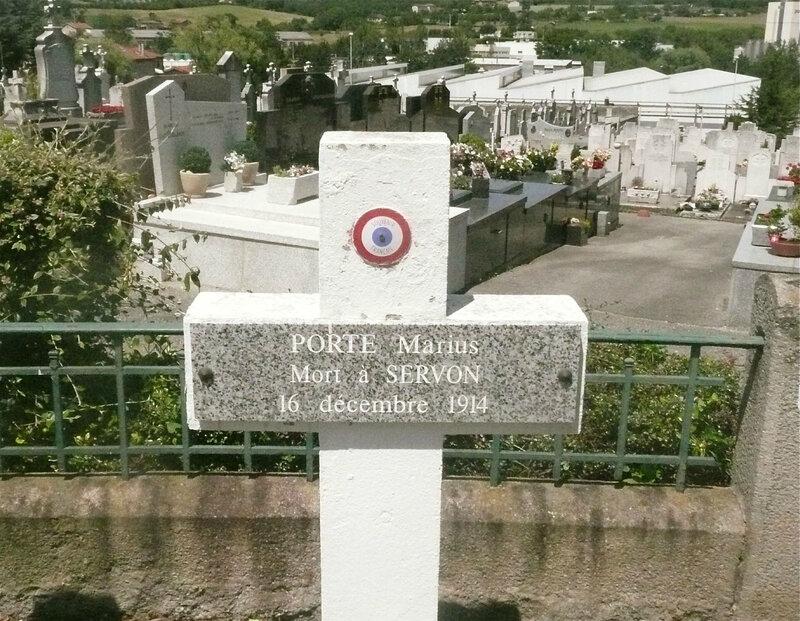 Marius Porte, tombe