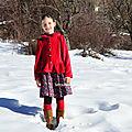 Lucie fraise des bois