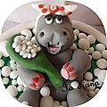 Gâteau Hippopotame ter