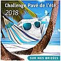 Challenge pavé de l'été: édition 2018