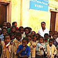 C'était la récréation lorrsque je suis passée devant l'école primaire publique (EPP).